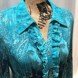 Victorian Style Blouse Size